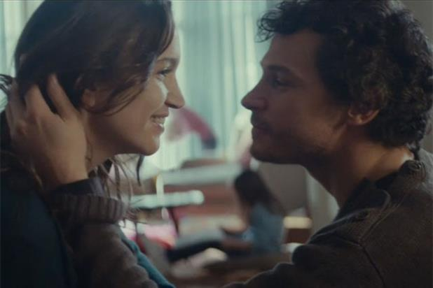 The kiss: Grey London's work for Vodafone is shortlisted in the Film Craft category
