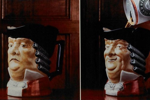 The history of advertising in quite a few objects: 39 Heineken's Toby jugs