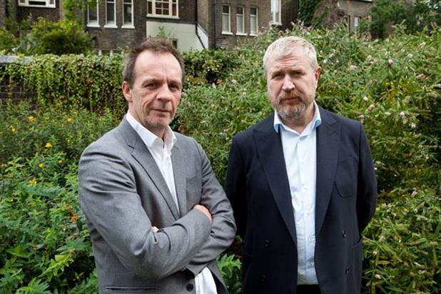 Campbell (l) and Doyle: the former AMV pair will take creative director roles