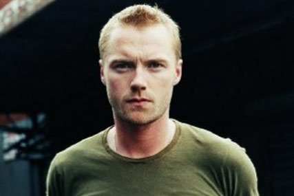 Ronan Keating…will swim the Irish Sea