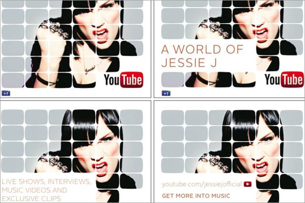 YouTube: rolls out Jessie J campaign