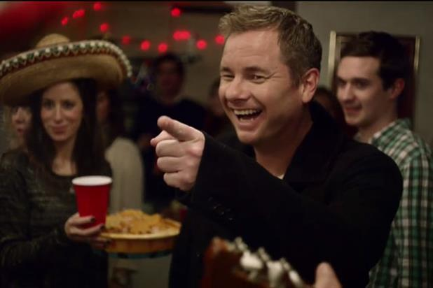 East 17's Tony Mortimer in Doritos video