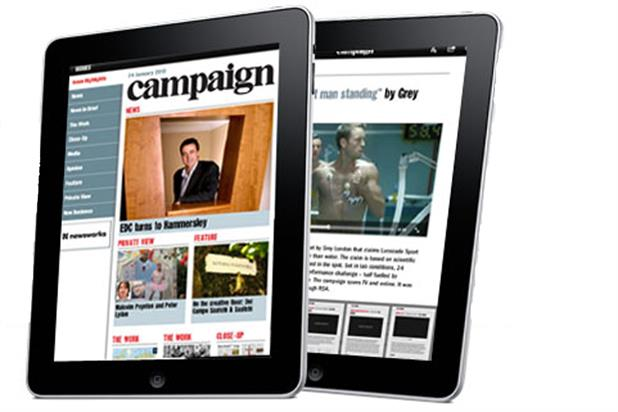 Campaign Magazine is now available on iPad - Watch here