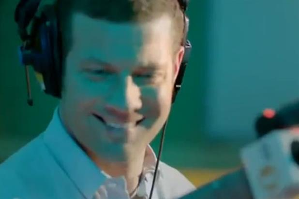 Dermot O'Leary: stars in BBC's '2 day' campaign