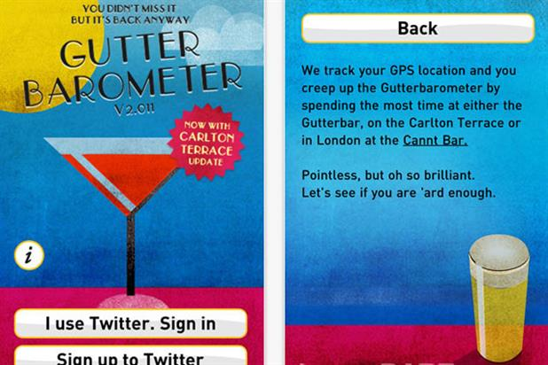 The Gutterbarometer: Dare app tracks festival-goers