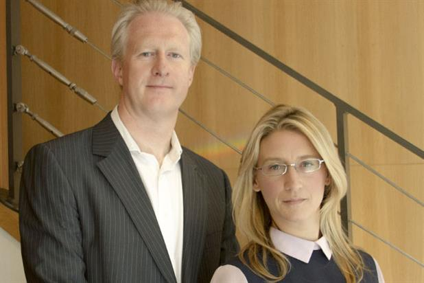 New colleagues: Russ Lidstone and Leila Bartlam of Havas Worldwide London