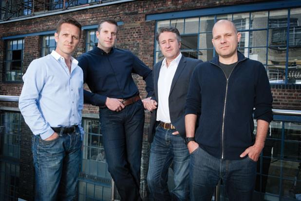 Richard Hill, Jon Goulding, Nick Fox, Guy Bradbury