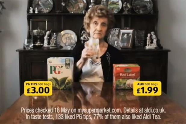 Aldi: tea ad tops most-liked ad poll for 2011