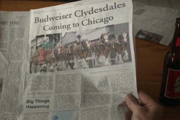 Budweiser: Super Bowl 2013 campaign
