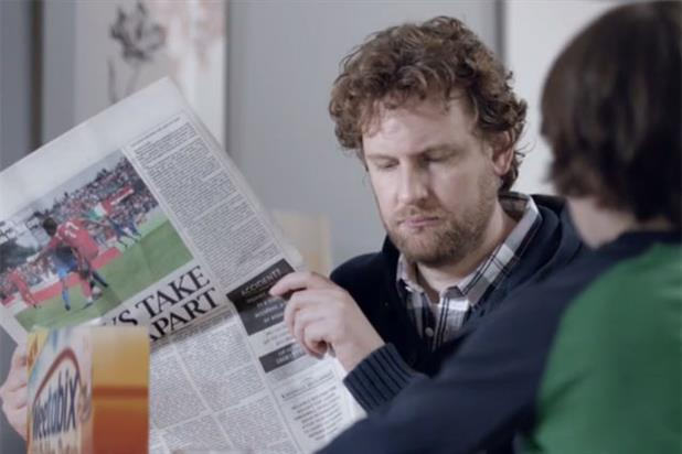 Weetabix: ad for golden syrup variant breaks next week