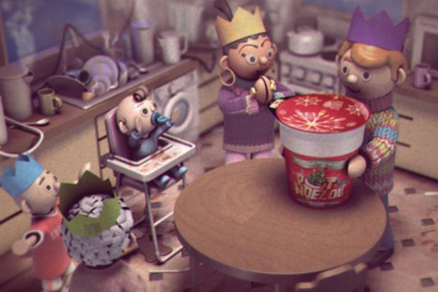 Pot Noodle: noodle van is here by A Large Evil Corporation and AKQA