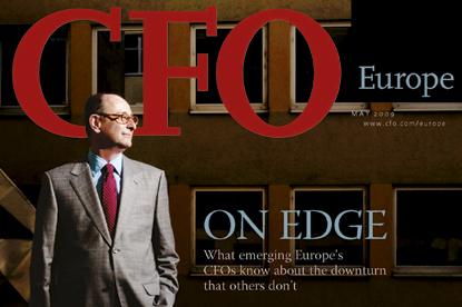 CFO Europe…the monthly magazine has closed