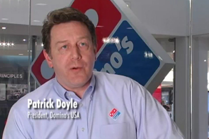 Domino's…fightback after video embarrassment