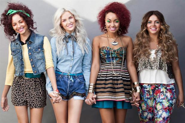 Little Mix: still in contention for this year's X Factor crown