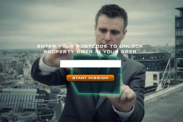 Rightmove: invites users to begin a mission