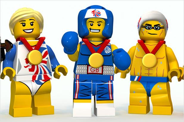Lego: unveils TeamGB activity