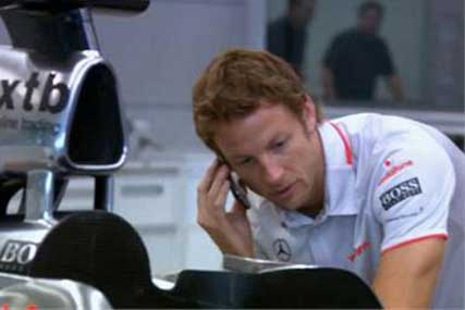 Vodafone: sponsors the McLaren Formula One team