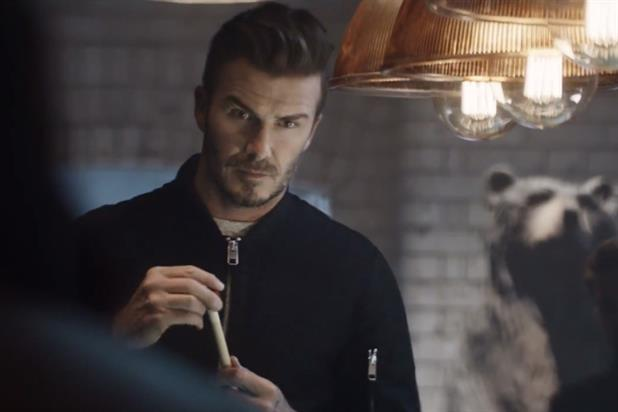 David Beckham in New H&m ad