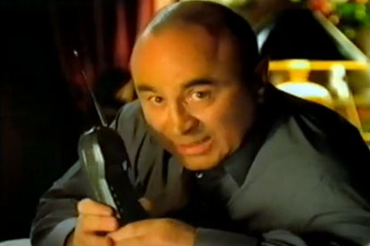 Bob Hoskins...star of BT campaign