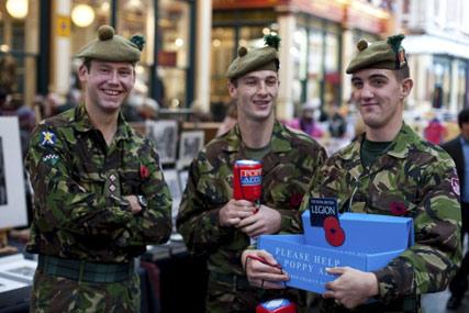 Royal British Legion: DM pitch
