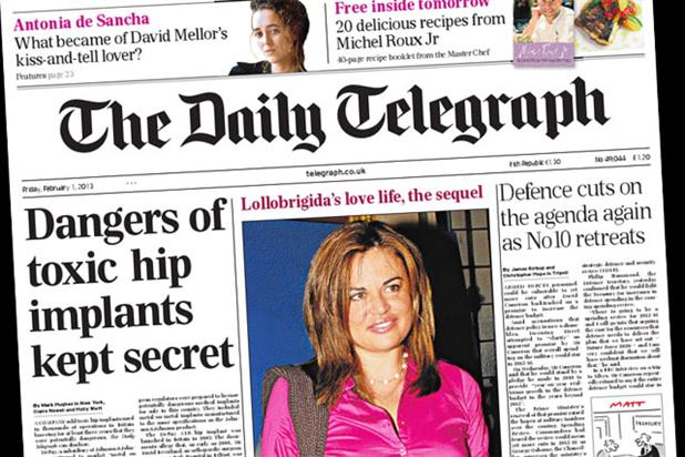 The Telegraph: partners Women of Tomorrow Awards