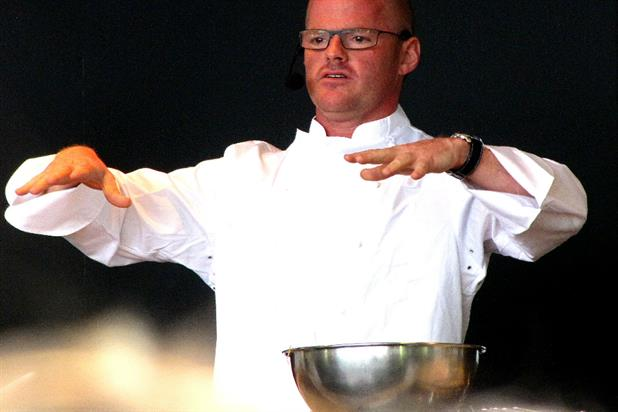 Heston Blumenthal: Sage by Heston Blumenthal hires MBA (photo: Brian Minkoff)