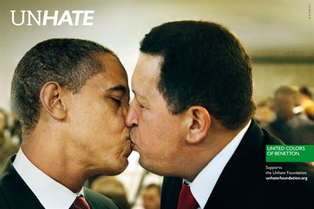 Obama and Chavez feature in Benetton campaign