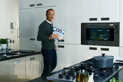 Young's…rugby star Matt Dawson fronted the brand's last push