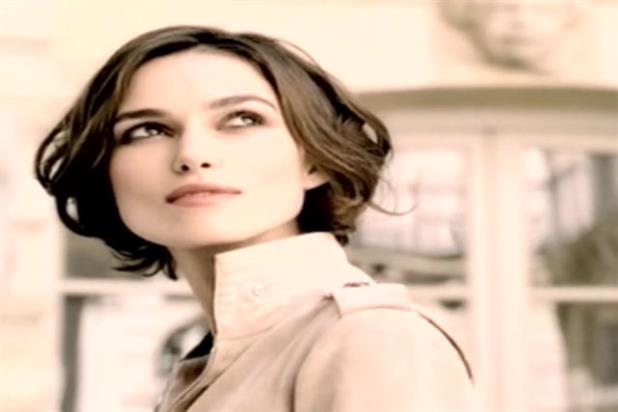 Keira Knightley: ad for Coco Mademoiselle perfume banned by the ASA