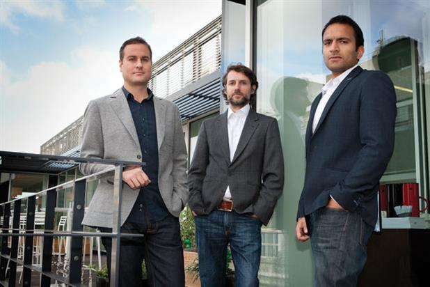 Alex Miller, Jamie Kenny and Richard Costa-D'sa: promotions from Jam's reshuffle