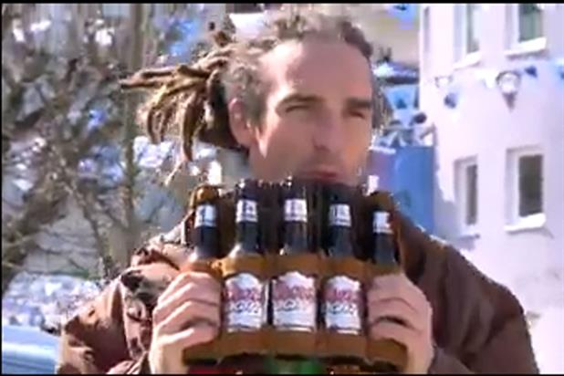 Coors Light: one character shows he has a lot of bottle