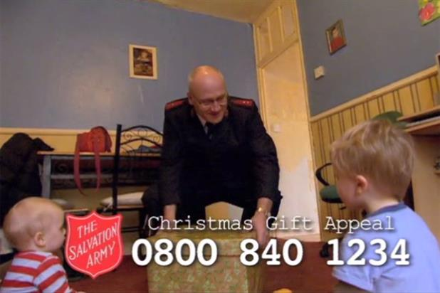 The Salvation Army makes a Christmas appeal