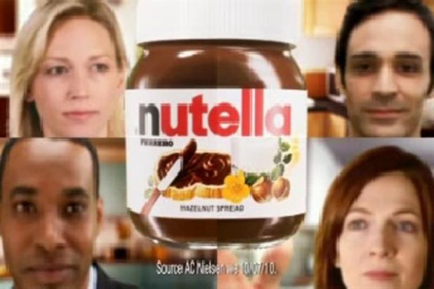 Nutella: ad approved by the ASA despite 31 compaints