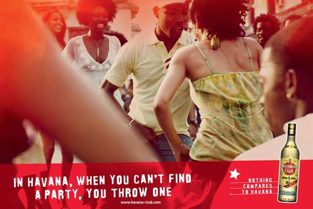 The Havana Club campaign by M&C Saatchi