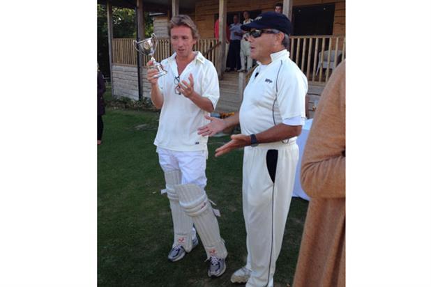 Johnny Hornby with Sir Martin Sorrell