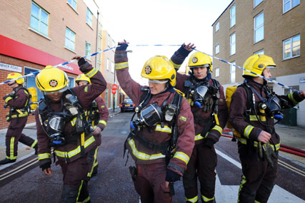 London Fire Brigade: seeks agency
