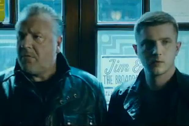 Orange: Ray Winstone and Ben Drew star in gold spot