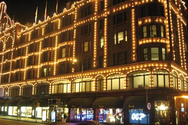 Harrods: agrees to bin Cluedo-style ad