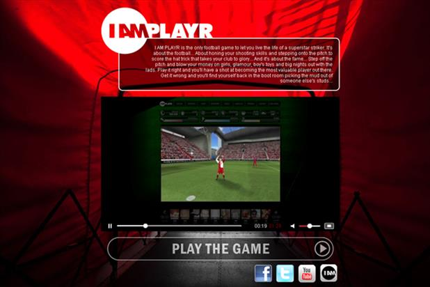 We R Interactive's IAmPlayr football game