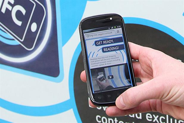 QR codes: now being trialled on digital outdoor sites In Reading by top brands