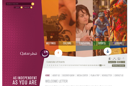 Qatar Tourism…seeking ad agency