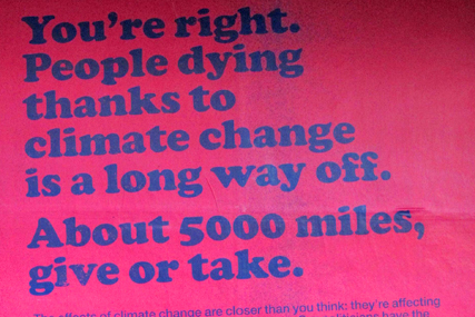 Oxfam: climate change ad escapes ban