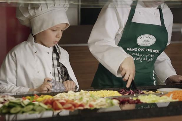 Harvester: rolls out junior chef ad campaign