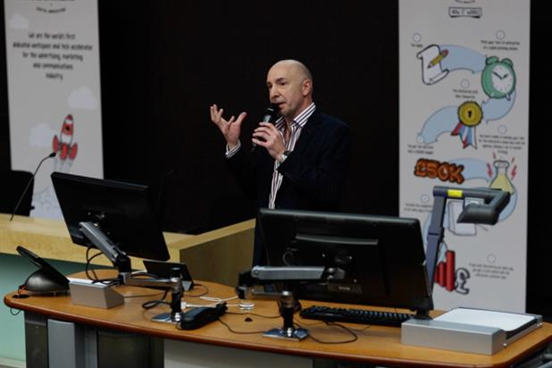 Humphries: the Bakery co-founder launched the accelerator programme at City University last week