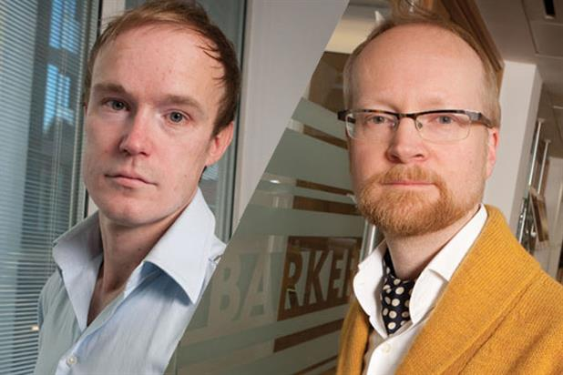 Bill Hartley and Giles Hepworth: join JWT