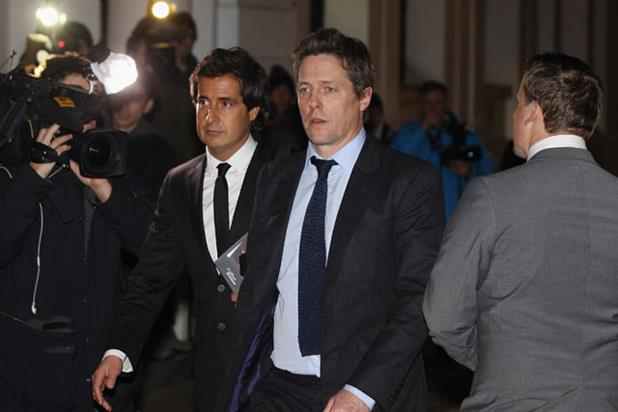 Hugh Grant... gave evidence to Leveson enquiry