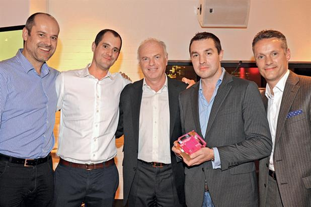 Advertiser of the Year: DFS accept the top award at the PPA Advertising Awards 2012