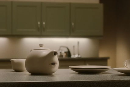 Freeview: talking teapot