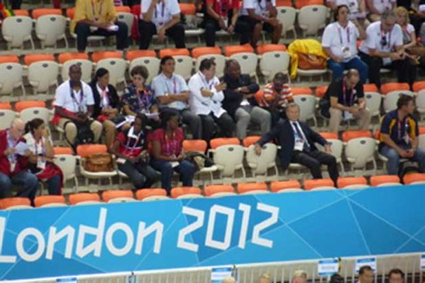 Sorrell: watching the Olympics