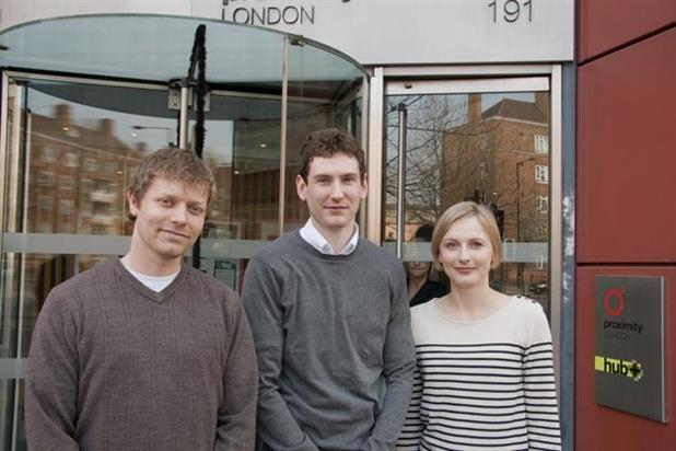 Proximity: new hires Andy Morris, Thomas Bunnel, Melani Parsons